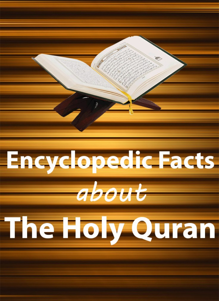 Encyclopedic Facts about The Holy Quran (Part-1) – MUSJIDUL HAQ